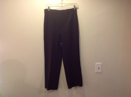 Grace Elements Brown Dress Pants Size 6 Button and Zipper Closure Good Condition