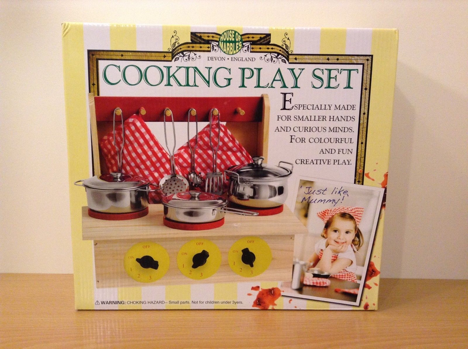 House of Marbles Child's Cooking Play Set  Kitchen Toy
