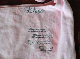 Girls Pink Dance Design Over the Shoulder Bag Knot Tied at Shoulder Motion Wear image 2