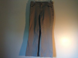 Gray Arianna Boot Cut Size 14 Jeans Zipper Two Button Closure Front Back Pockets