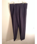 Gray Brooks Brothers Wool Pleated Front Dress Pants Waist 38 Inches - $34.64