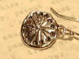 Handmade Sterling Silver Pendant Flat Earrings image 4