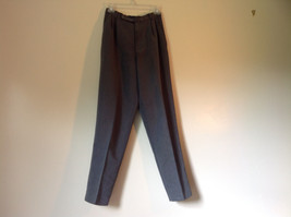 Gray Casual Pants Size 6 Crazy Horse Liz Claiborne One Back Pocket Belt Loops