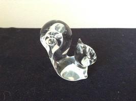 Glass Squirrel or Cat Cute Statue image 4