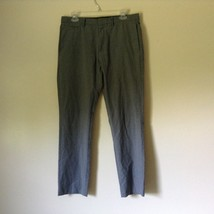 Gray Dress Pants by Calvin Klein Made in Egypt Size 30 by 32 Slim Fit image 1