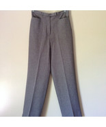 Gray Dress Pants by Levine Classics 100 Percent Polyester Size 8 - $44.54