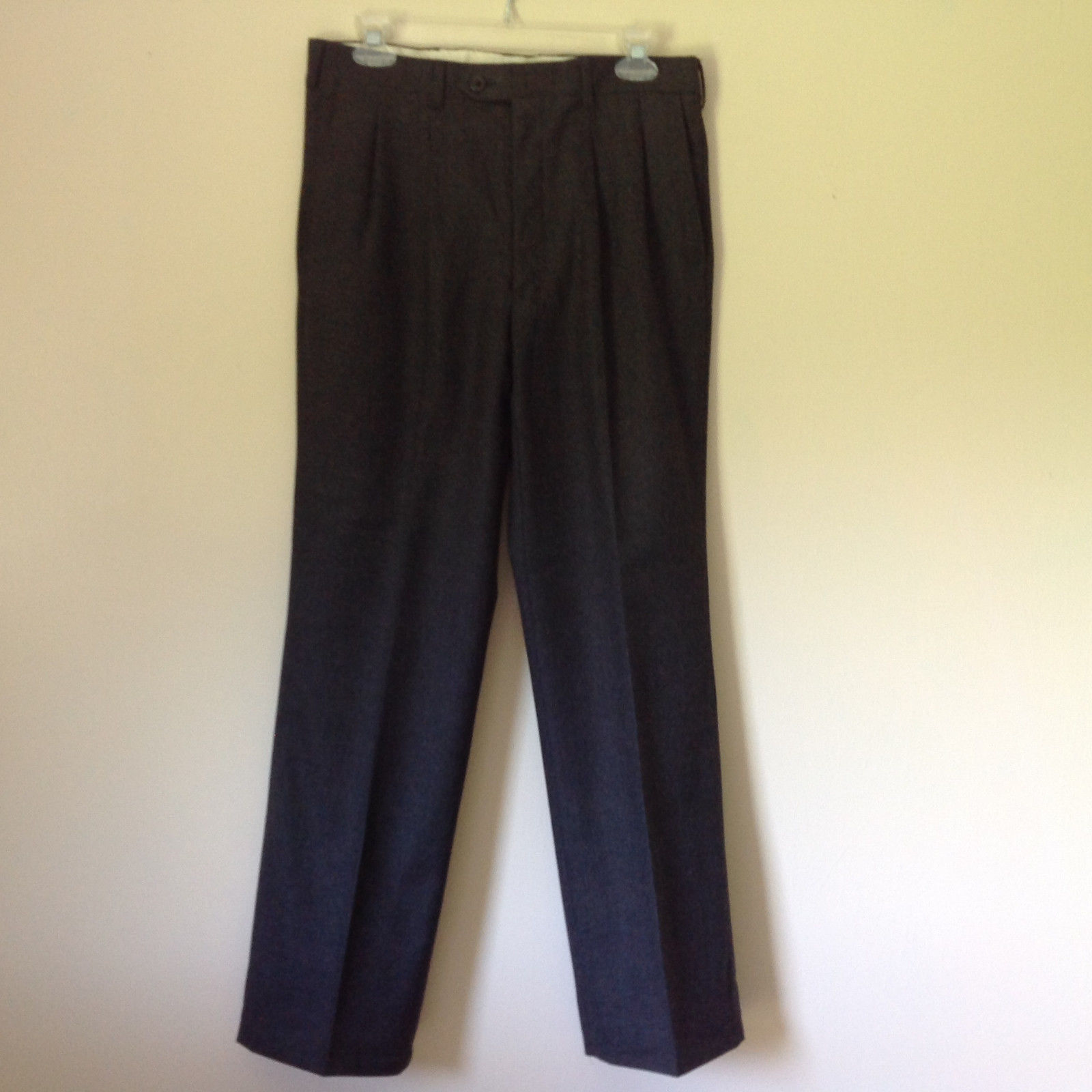 Gray Dress Pants by Louis Raphael Pure Laine Vierse All Pure Wool Size 31