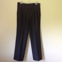 Gray Dress Pants by Louis Raphael Pure Laine Vierse All Pure Wool Size 31 image 1