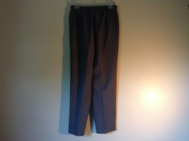 Gray Dress Pants by Liz Thomas Size 10 Stretch Waistband