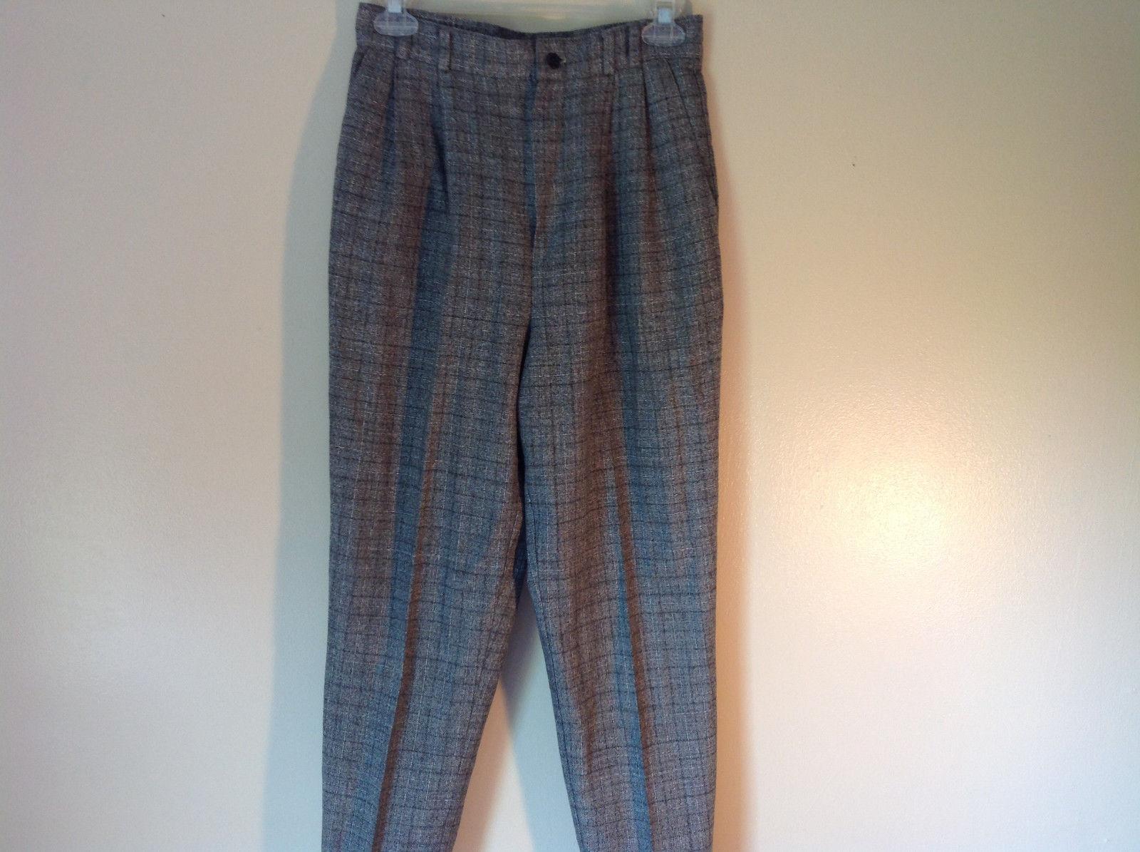Gray Pants by Samantha USA 50 Percent Polyester 50% Rayon Size 8