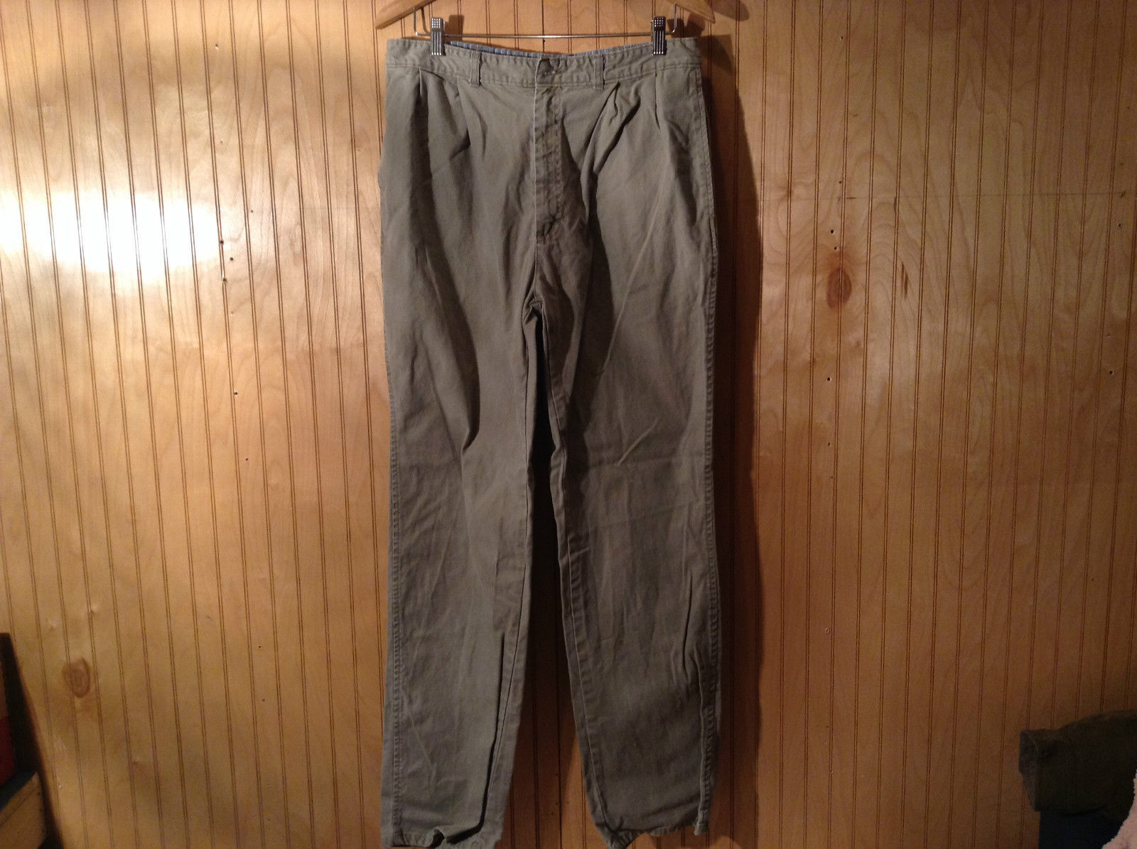 Gray Osh Kosh B' Gosh Regular Fit Casual Dark Khaki Pants Size 34 by 34