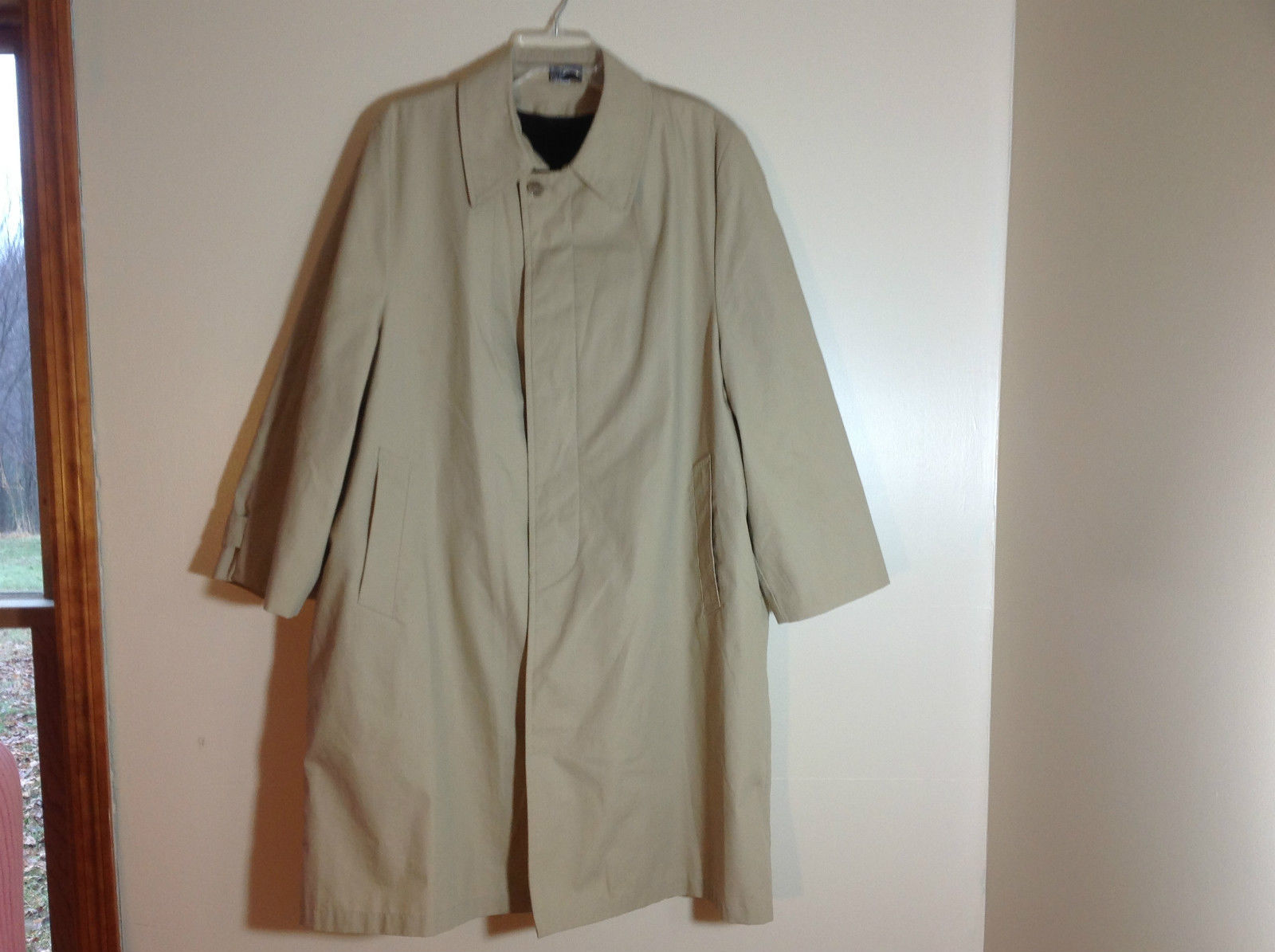 Insulated Trenchcoat Tan Womens size L