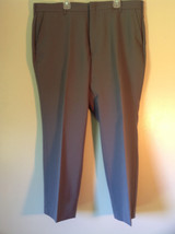 Gray Pleated Dress Pants by Blair Front and Back Pockets Belt Loops Size 38S