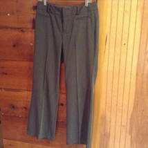 Gray Pleated DOCKERS Dress Pants Size 10P Front and Back Pockets