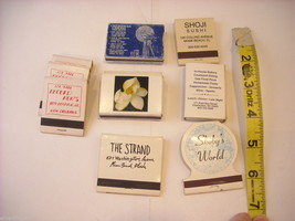 9 Matchbooks and boxes from Southern US image 2