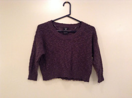 Gray Short Sweater by Guess Size Small 100 Percent Cotton Long Sleeves