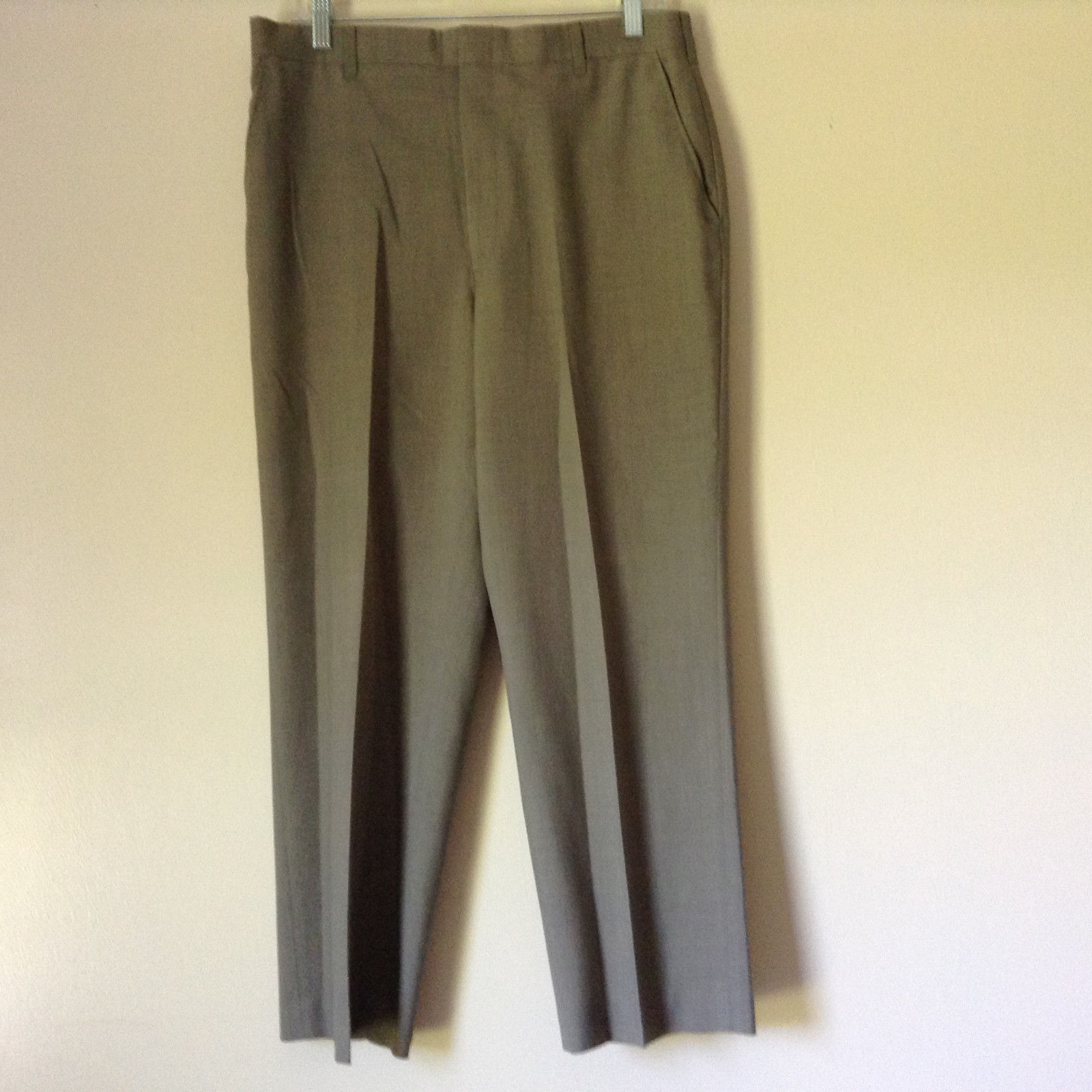 Grayish Colored Dress Pants by Adams Row by Anderson Little Measurements Below