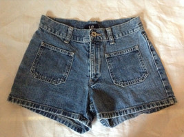 Jean Shorts by GAP 100 Percent Cotton Two Front Pockets Size 1 image 1