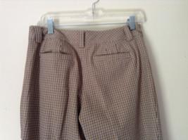 Gold White Black Plaid Pants by Talbots Petite Size 10 image 8