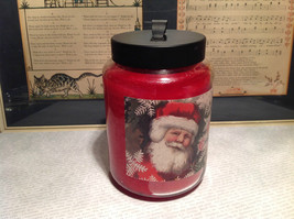 A Very Merry Christmas Peppermint Jar Candle Approximately Six Inches High image 3