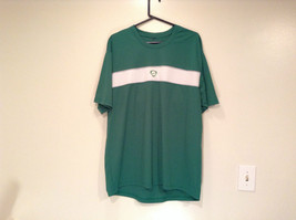 Green Nike Short Sleeve Sport Jersey 100 Percent Polyester Size L to XL No Tag