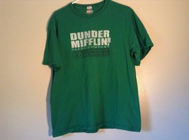 Green T Shirt Dunder Mifflin Inc Paper Company 100 Percent Preshrunk Cotton - $39.99