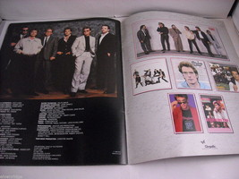 Huey Lewis and the News World Tour Concert Booklet Program 1986 image 5