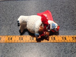 50th Anniversary Bumble with Rudolph Red Scarf Holiday Ornament Tag Attached image 7