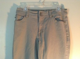 Gray Arianna Boot Cut Size 14 Jeans Zipper Two Button Closure Front Back Pockets image 2