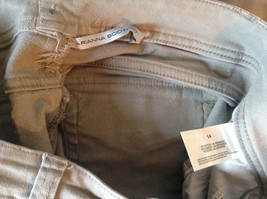 Gray Arianna Boot Cut Size 14 Jeans Zipper Two Button Closure Front Back Pockets image 6