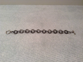 Gun Metal Steam Punk Handmade Ring Bracelet