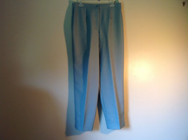 Haberdashery Light Blue Size 16 Dress Pants by Leslie Fay Sportswear
