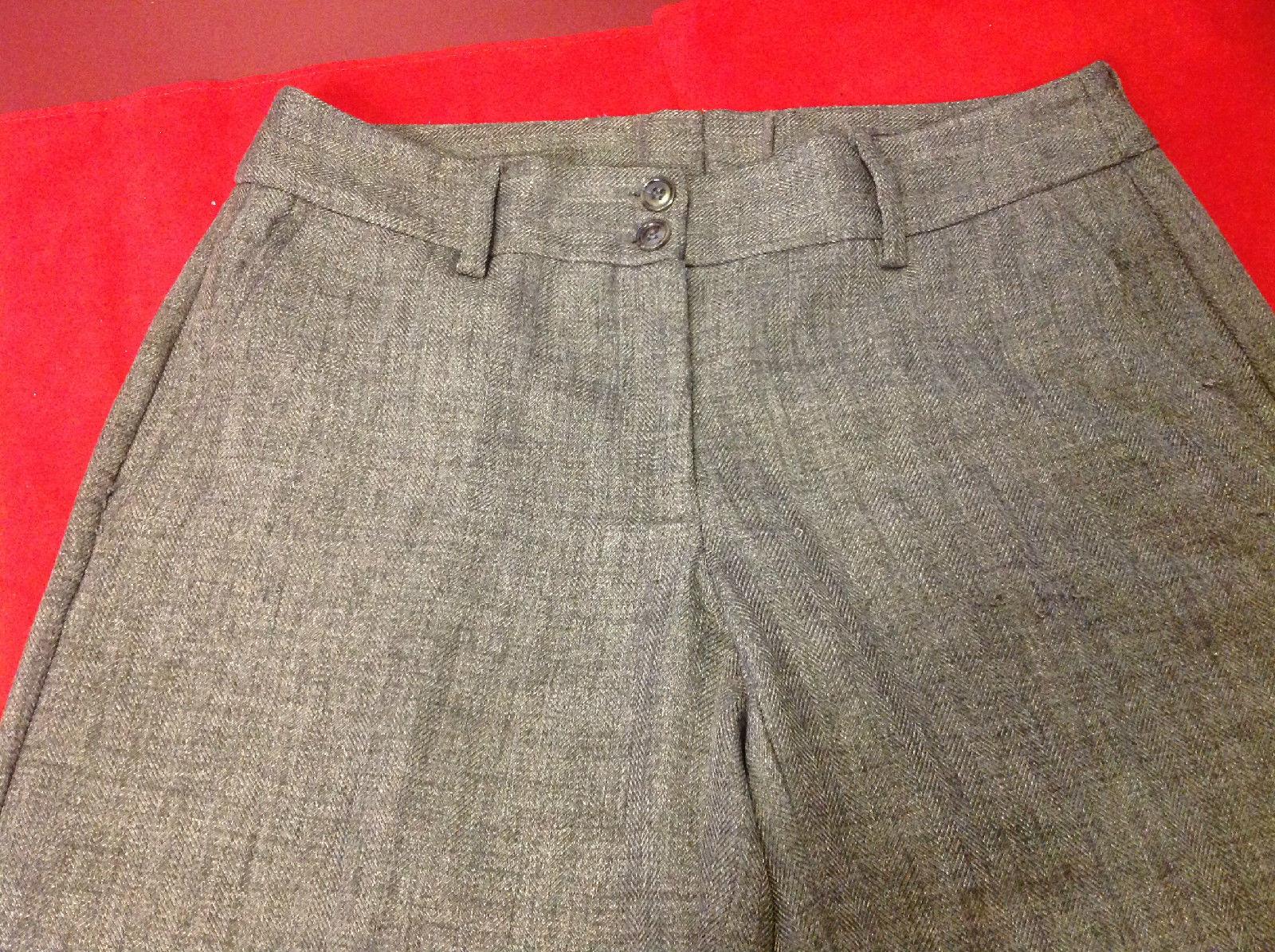 H & M Dark Gray Ladies Dress Pants Size 10