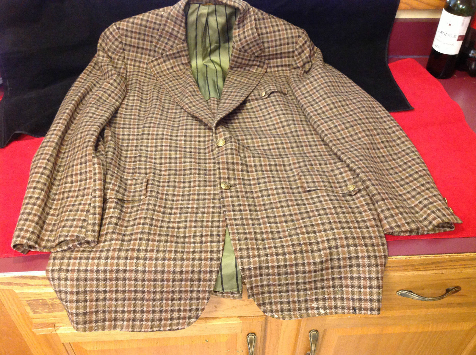 H.G. Rafalowsky Botany 500 Ladies Brown Blazer Very Good Condition SIze 23 In W