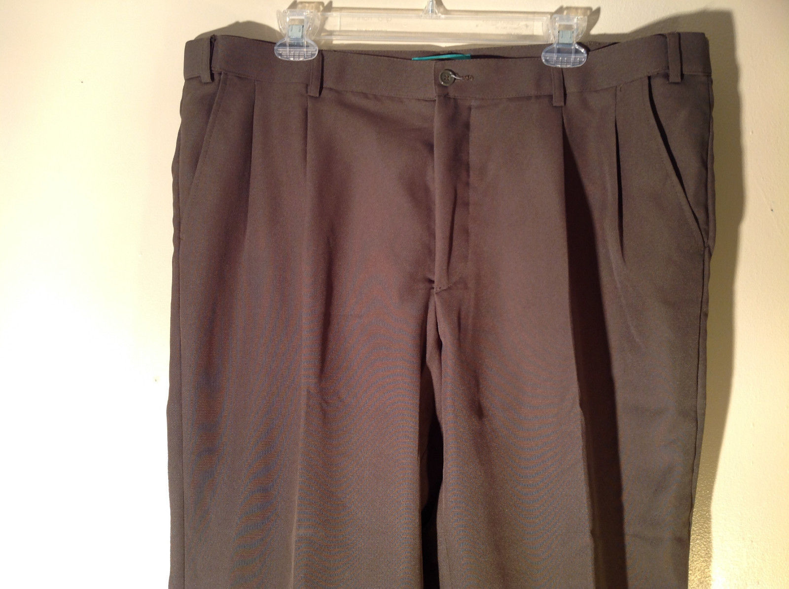 Habands Fit Forever Gray with a Very Subtle Green Dress Pants Size 40 XS