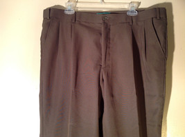 Habands Fit Forever Gray with a Very Subtle Green Dress Pants Size 40 XS image 1