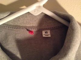 Gray Collared Short Sleeve Five Button Closure Polo Shirt Size XS  Uniqlo image 3