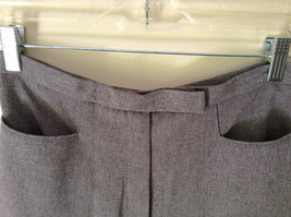 Gray Dress Pants by Levine Classics 100 Percent Polyester Size 8 image 7