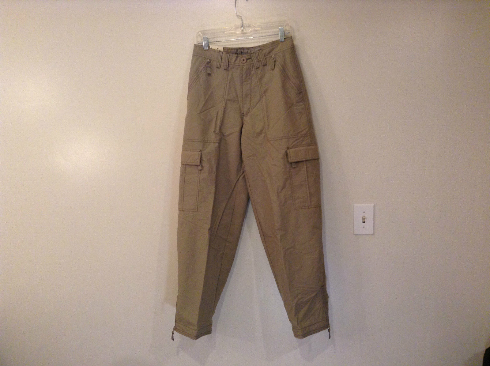 Khaki Sport Pants Mudd NEW WITH TAGS Fully Lined size w  Leg Pockets
