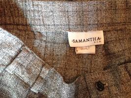 Gray Pants by Samantha USA 50 Percent Polyester 50% Rayon Size 8 image 7