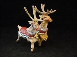 Hallmark Christmas ornament Comet Cupid Santa Reindeer