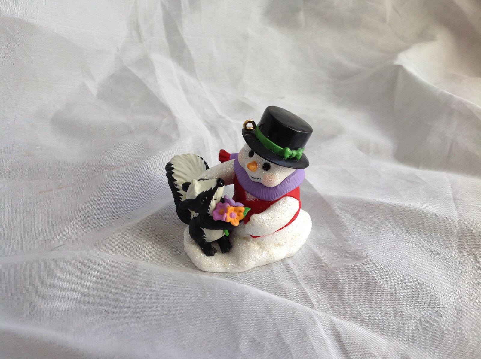 Hallmark Keepsake Snow Buddies Snowman and Animal Ornament