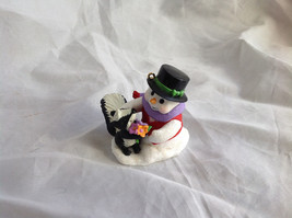 Hallmark Keepsake Snow Buddies Snowman and Animal Ornament