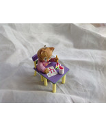 Hallmark My Fourth Christmas Ornament Childs Age Collection Cat at Desk ... - $19.80