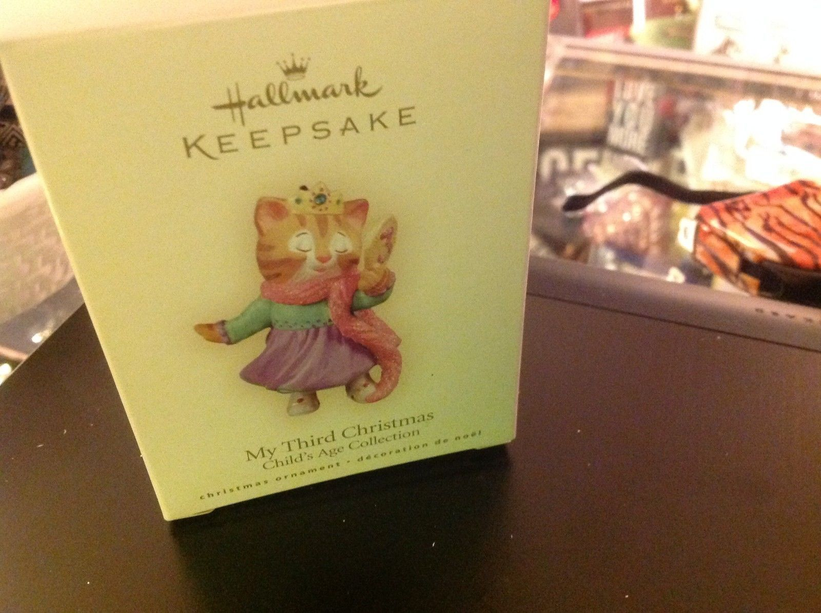 Hallmark ornament Kitty Cat Princess My Third Christmas ornament NO BOX