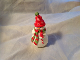 Hallmark Happy Little Snowman with Red Scarf and Hat Ornament Original Box - $39.99