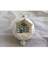 Hallmark Keepsake  Snow Day Magic Ornament Lights Up  Tie Attached NIB - $39.99