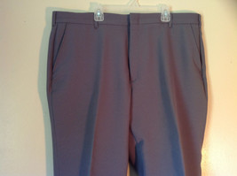Gray Pleated Dress Pants by Blair Front and Back Pockets Belt Loops Size 38S image 2