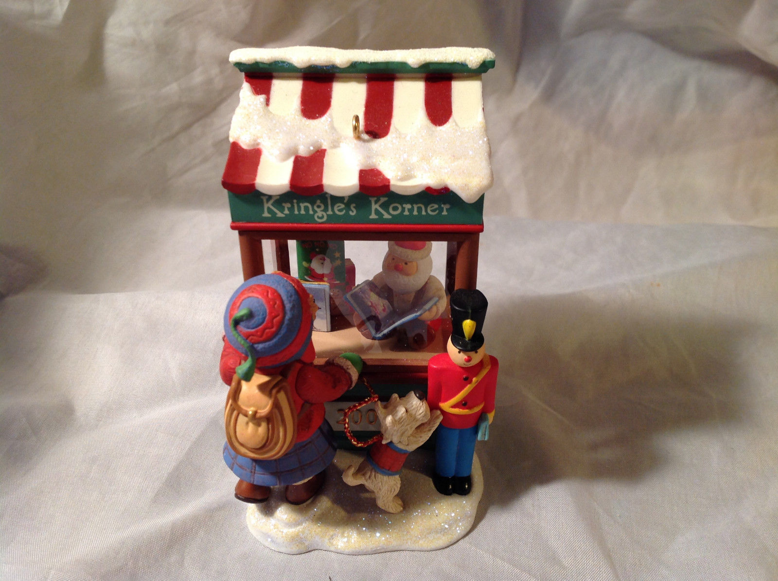 Hallmark Kringle's Korner Christmas Windows 2008 Keepsake Series Original Box