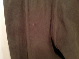 J McLaughlin Size 14 Dark Green Brown Side Zipper Closure Casual Pants USA image 8